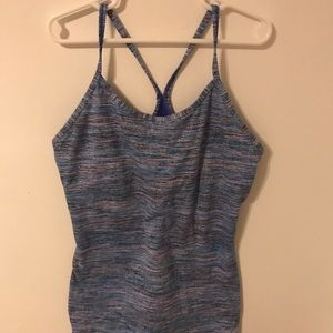 Ivivva blue and purple tank top